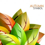 Link toSet of charm autumn  backgrounds vector 02