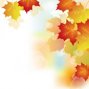 Link toAutumn beautiful leaves theme background vector 02
