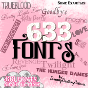 Link to633 kind font collection