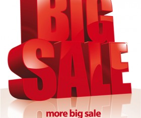 Cover of Big Sale publicize page vector 01