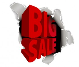 Cover of Big Sale publicize page vector 02
