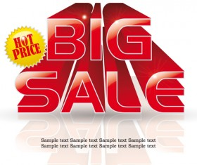 Cover of Big Sale publicize page vector 03