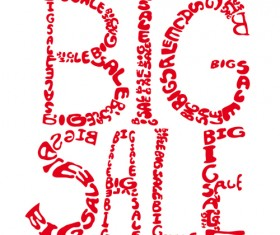 Cover of Big Sale publicize page vector 04