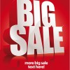 Cover of Big Sale publicize page vector 05