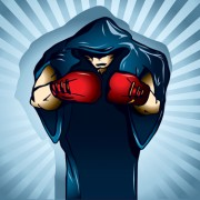 Link toSet of boxing design elements vector 03