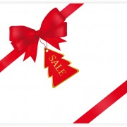 Link toSet of red christmas ribbons elements vector 01