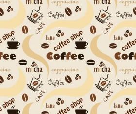 Set of Coffee logo design elements mix vector 04