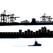 Link toSet of container shipping elements vector 02