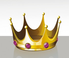 Noble of Crown design vector set 01