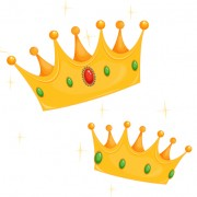Link toNoble of crown design vector set 02
