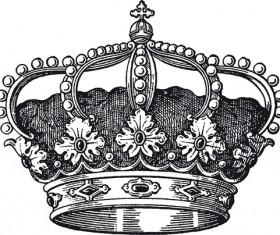 Noble of Crown design vector set 04