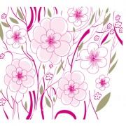 Link toElements of floral backgrounds vector illustration 01