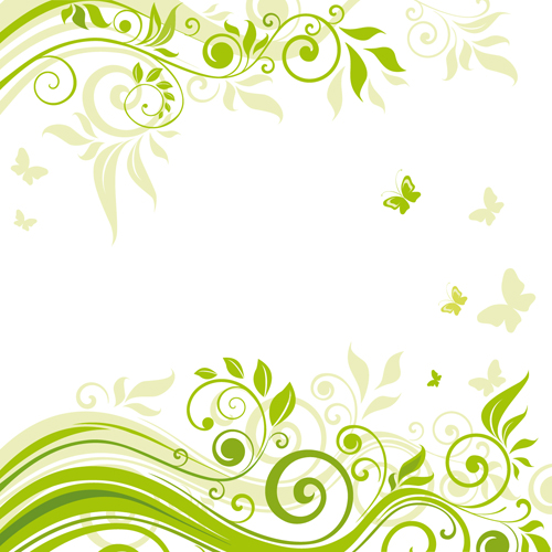 elements of floral backgrounds vector illustration 02 vector rh freedesignfile com Flower Photoshop Patterns vector flowers photoshop brushes