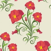 Link toElements of floral backgrounds vector illustration 03