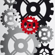 Link toSet of gears assemble vector backgrounds 01