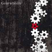 Link toSet of gears assemble vector backgrounds 03