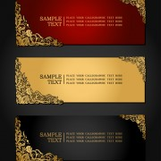 Link toElements of luxury invitation background vector 03