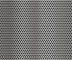 Metal texture elements background vector set 01