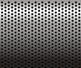 Metall texture elements background vector set 02