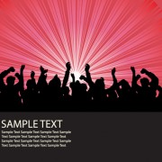 Link toSet of music elements vector graphic 04