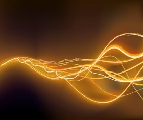 Neon Light beam vector backgrounds set 03