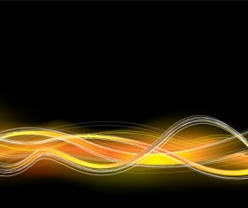 Neon Light beam vector backgrounds set 04