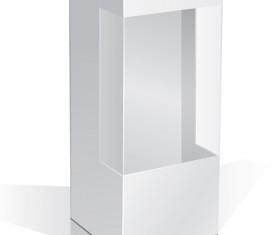 Set of Paper Packaging Box design vector 01