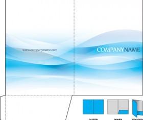 Set of Paper Packaging Box design vector 04