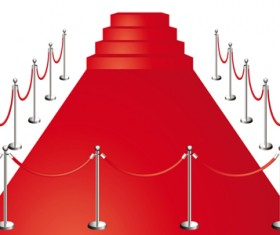 Noble Red Carpet vector set 01