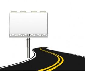 Different Winding road design vector 02
