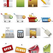 Link toDifferent shopping icon mix vector graphic 03