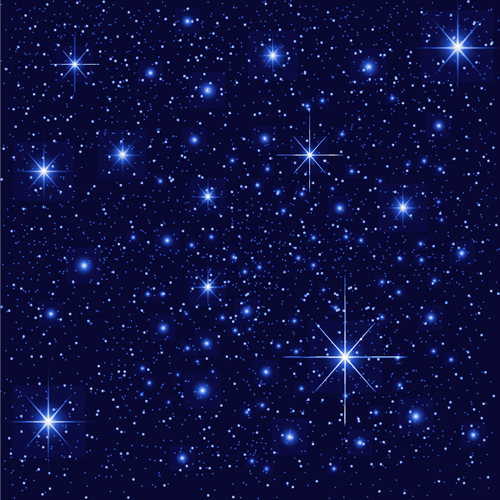 Shiny Sky With Stars Design Vector Background 04