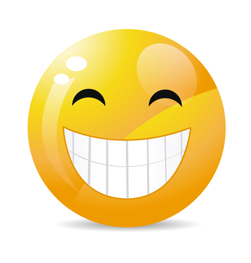 Funny Smile Emoticons vector icon 03 - Emoticons Icons, Vector Icons ...: freedesignfile.com/19000-funny-smile-emoticons-vector-icon-03