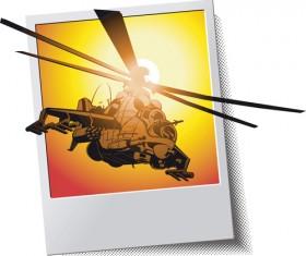 Various Military equipment design elements vector set 05
