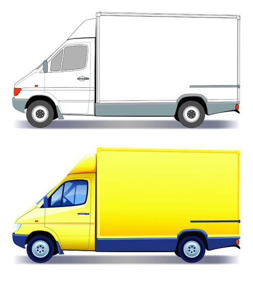 Different Transport vehicles design vector 01