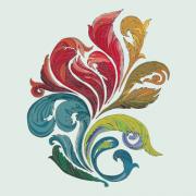 Link toVector of colorful floral design elements