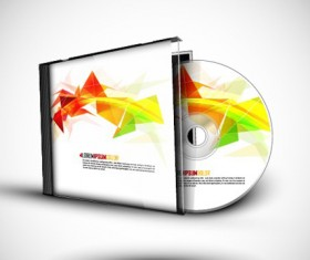 Abstract of CD Cover vector set 02