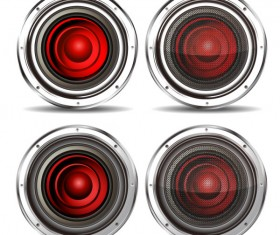 Different Speaker vector graphic 01