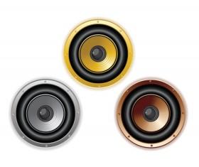 Different Speaker vector graphic 02