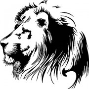 Link toHand drawn lion head vector graphic