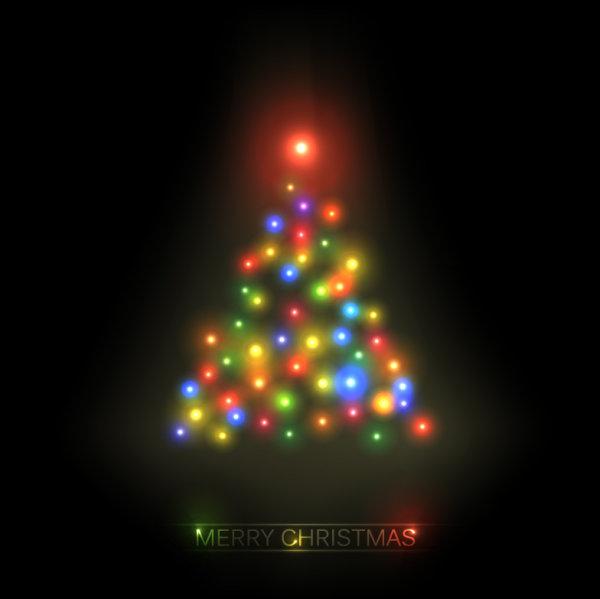 Creative Christmas design elements vector material 04