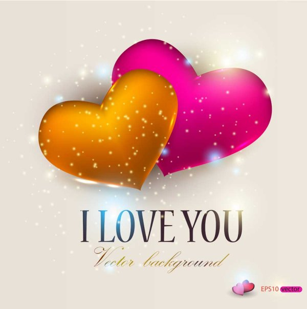 valentine day gift cards vector material 02 - vector card, vector, Ideas