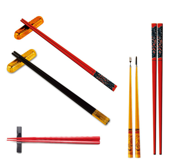 Elements of Chopsticks psd material