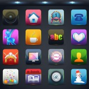 Link toCreative mobile application icon set 03