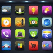 Link toCreative mobile application icon set 04