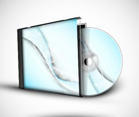 Abstract of CD Cover vector set 03
