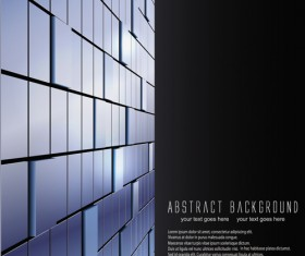 Abstract and Cubes vector Backgrounds 01