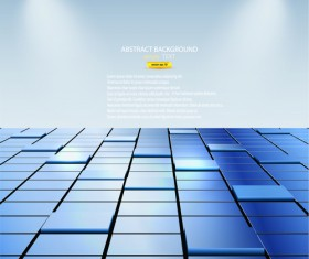 Abstract and Cubes vector Backgrounds 02