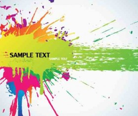Different colors of rainbow backgrounds vector 03