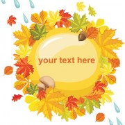 Link toAutumn theme backgrounds art vector 02